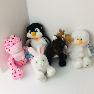 Lot of Ganz Webkinz Webkins Plush With Codes and Without Codes Assorted