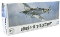 "Premium Hobbies Bf 109 G-14 ""Black Tulip"" 1:72 Plastic Model Airplane Kit 127V"