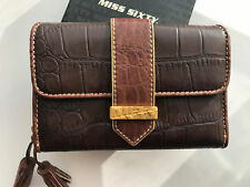 NUOVO Donna Miss Sixty Donna Designer Grande Borsa E Portafogli Monete Carte Holder