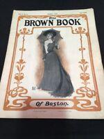 The Brown Book of Boston Magazine August 1902 Vol 5 No 4
