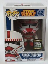 Star Wars Shocktrooper Funko Pop Vinyl Exclusive Figure Bobblehead & Protector