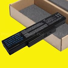 6 Cell Battery for MSI M660 M662 M670 BTY-M66 BTY-M68 A9 F2 F3 A32-F3 SQU-524