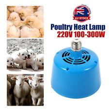 Poultry Heat Lamp Bulb Warming Light For Brooder Piglets Chicken Pet 220V O