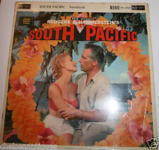 "SOUTH PACIFIC 1958 Film Soundtrack Vintage 12"" Vinyl LP Rodgers & Hammerstein"