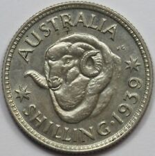 Australia 1939 Shilling, Choice Uncirculated