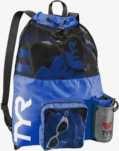 Tyr- Big Mesh Mummy Backpack- Blue-