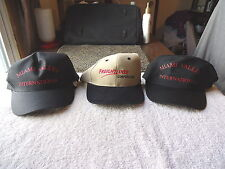 "Lot Of 3 "" NOS "" Trucking Company Hats,2,International,1,Freightliner "" COLLECTI"