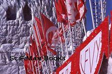 KODACHROME 35mm Slide Canada Quebec City Winter Carnival Bonhomme Flags 1979!!!