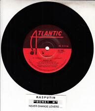"BONEY M  Rasputin 7"" 45 rpm vinyl record BRAND NEW  + jukebox title strip"