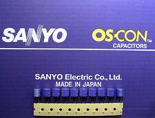 10pcs Sanyo OS-CON 220µF/10V