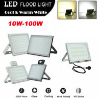LED Flood Light 10W-100W Outdoor Security Spotlight Waterproof Lamp Fixtures