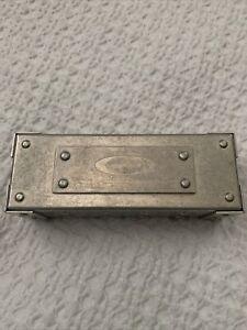 Oakley X-Metal Aluminum Sunglass Vault Case 1995 Vintage Rare Display