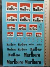 """DECALS 1/18 TABAC """" MARLBORO """" - COLORADO 18207 UV"""