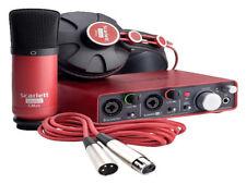 Focusrite Scarlett 2i2 Studio USB Interface