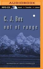 Out of Range by C.J. Box (English) MP3 Style CD Audiobook Used but Complete Case