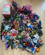 Vintage 80s 90s Figure Toy Lot Bundle Ghostbusters He-man Turtles