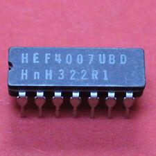 2 STK. HEF4007UBD - HEF4007 - CDIP-14 - INVERTER - PHILIPS - 2pcs.