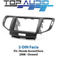 Honda Accord Euro 2008+ radio Double 2 Din fascia dash panel facia plate