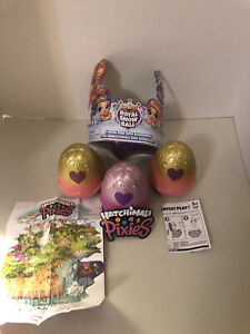 Hatchimals Royal Snow 3 Balls with 3 Mystery Pixie & Accessories