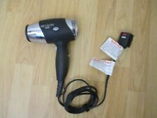 Revlon 1875W Travel Hair Dryer chrome/black - used, clean