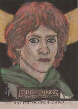 "Lord of the Rings Masterpieces II - Jason Potratz ""Merry"" Sketch Card"