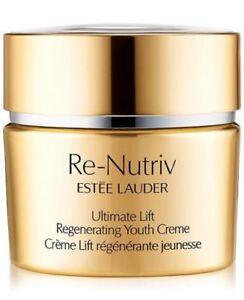 ESTEE LAUDER Re-Nutriv Ultimate Lift REGENERATING Creme Cream 1.7oz 50ml NeW BoX