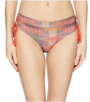 Prana Ikenna Bottom (Carmine Desert Geo) Women's Swimwear Sz. Medium 150351