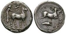 Sicilia, Messina, 425-396 A.C., TETRADRAMMA