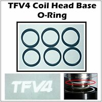 6- TFV4 MICRO Coil Head Base Sub Ohm Orings ( ORing O-RINGS smok ) LEAKBUSTERS!