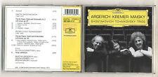 Cd ARGERICH KREMER MAISKY Shostakovich Tchaikovsky Trios Marta Gidon Mischa