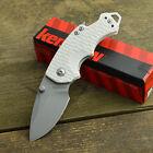 Kershaw Shuffle White K-Texture 8Cr13MoV Linerlock Knife 8700SNOW