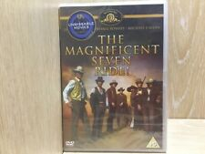 The Magnificent Seven Ride DVD New & Sealed Western