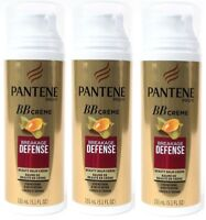 3 Pantene Pro-V BB Creme Breakage Defense Beauty Balm Strengthens & Helps Repair
