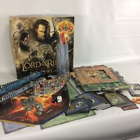 Lord of The Rings The Return Of The King Board Game Deluxe Edition Rose Art
