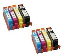 8 nonoem Cartucho De Tinta Hp 364 Xl Chip Deskjet 3520 Officejet 4620 4610 4622 W