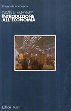 A30 Introduzione all'economia Whynes Ed. Riuniti 1985