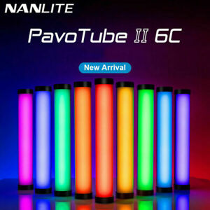 Nanguang Nanlite Tube II 6C Handheld LED Light Photography Fill Light Video RGB