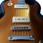 Harley Benton SC-450 P90 GT Guitar Gold Top w Hardshell Case les paul NICE