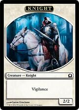 PROMO TOKEN Cavaliere 2/2 - Knight 2/2 MTG MAGIC RtR Return to Ravnica Ita