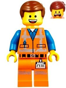 NEW LEGO MOVIE EMMET MINIFIG 70826 70827 emmett emett minifigure figure