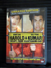 Harold & Kumar Escape from Guantanamo Bay (DVD, 2008) Unrated Edition Like New!