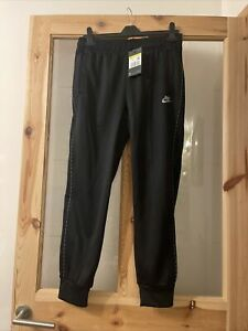 BNWT Men's Nike Repeat Poly knit Pants Tracksuit Bottoms size Small