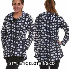 Women's No Pattern Hip Length Trench Coats, Macs Coats & Jackets