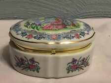 Some Enchanted Evening Music Box by Heritage House 1989 Valentine Serenades