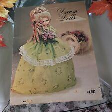 Dream Dolls Craft Book Viola Rawson 31 pg 1974 Zim's Pattern Book