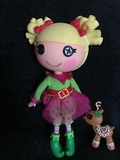 """Lalaloopsy Holly Sleighbells Limited Edition RARE large full size 13"""" doll"""
