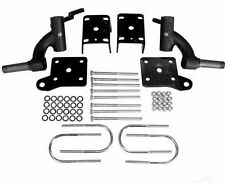 "EZGO TXT RHOX 3"" Drop Spindle Golf Cart Lift Kit Electric 01.5-09 Gas 01.5-08.5"