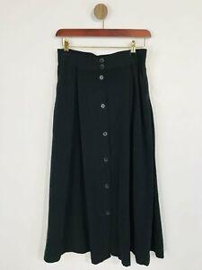 Monki Women's Maxi Skirt   L UK14   Black