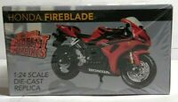 ATLAS WORLD'S GREATEST SUPERBIKES 1:24 SCALE HONDA FIREBLADE - FACTORY SEALED