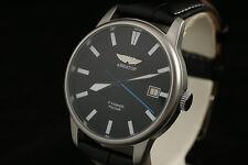 AVIATOR Russian mechanical wrist watch airforce style POLJOT 2614.2H w calendar